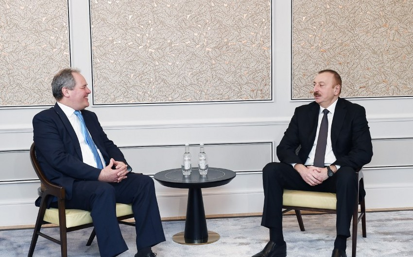 President Ilham Aliyev met with a group of British MPs in London