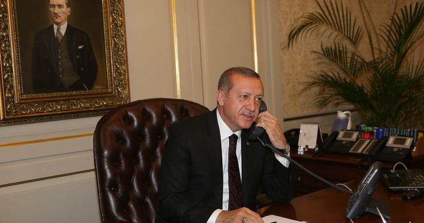 Ərdoğan: Türkiyə-Gürcüstan-Azərbaycan fəaliyyət mexanizmi liderlər səviyyəsində canlandırılmalıdır