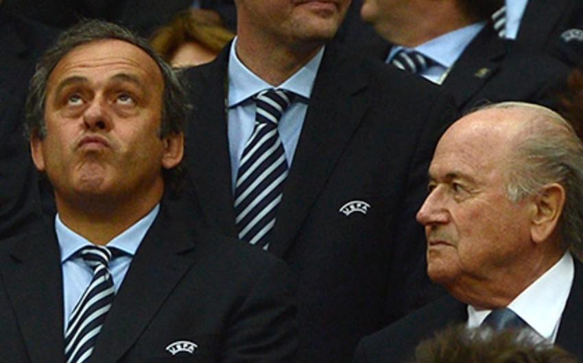 Mişel Platini FİFA prezidenti seçkisində Yozef Blatteri dəstəkləməkdən imtina edib