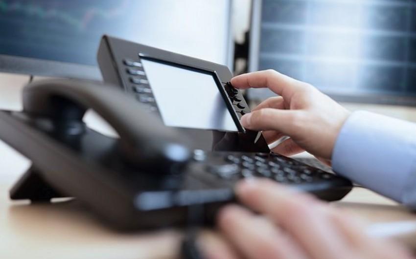 Azərbaycanın dövlət qurumlarında iclaslar telefon rabitəsi ilə keçiriləcək
