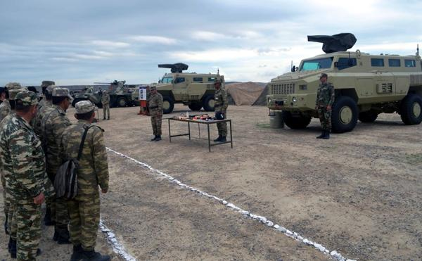 Weapons and military equipment transferred to winter operation mode in Azerbaijan
