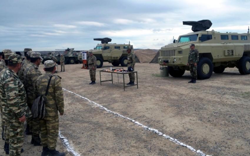 Azərbaycan ordusunda silah və hərbi texnikanın istismarı qış rejiminə keçirilib