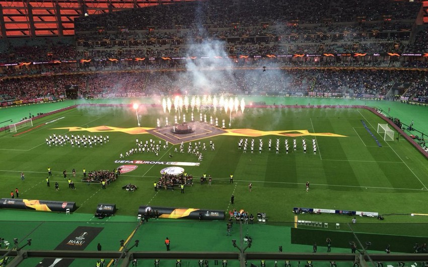 Opening ceremony of UEFA Europa League final held - PHOTO