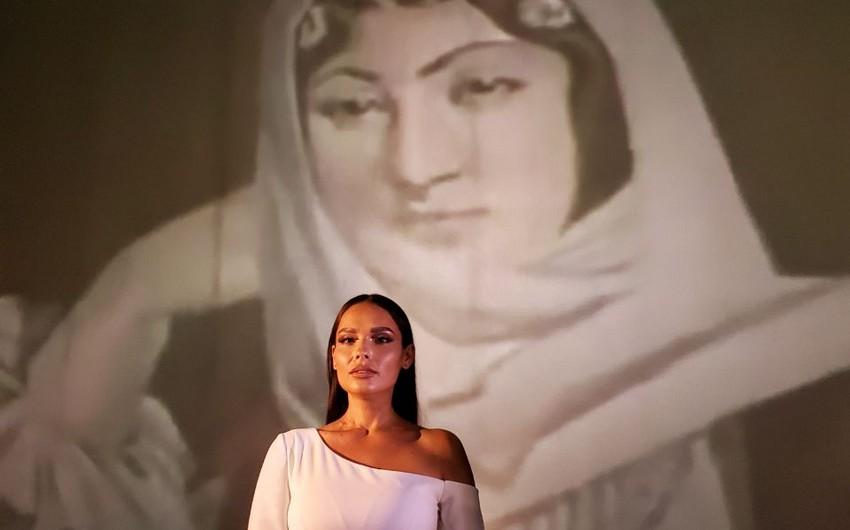 Rilaya's splendid performance about Shusha: - next project by Dəyər ver