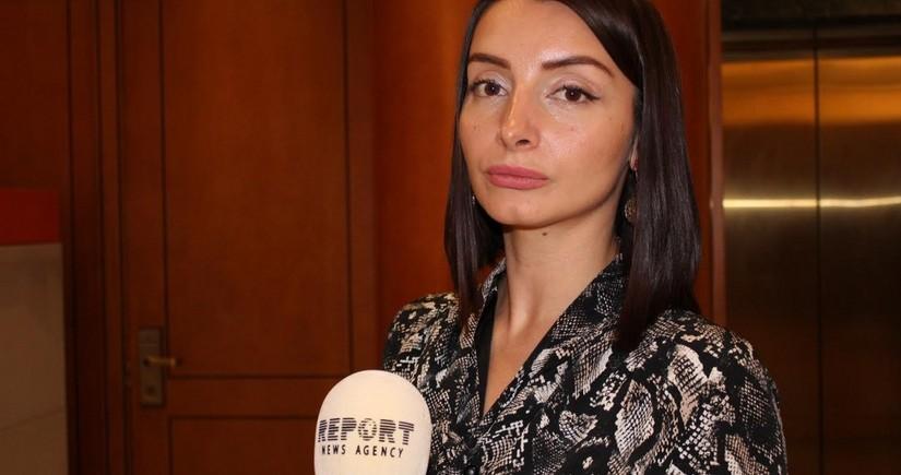 """Leyla Abdullayeva: """"Ermənistanın işğalı müvəqqəti xarakter daşıyır"""""""