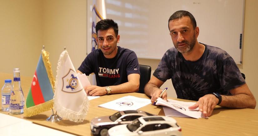 Qarabağ yeni transferi ilə müqavilənin müddətini açıqlayıb