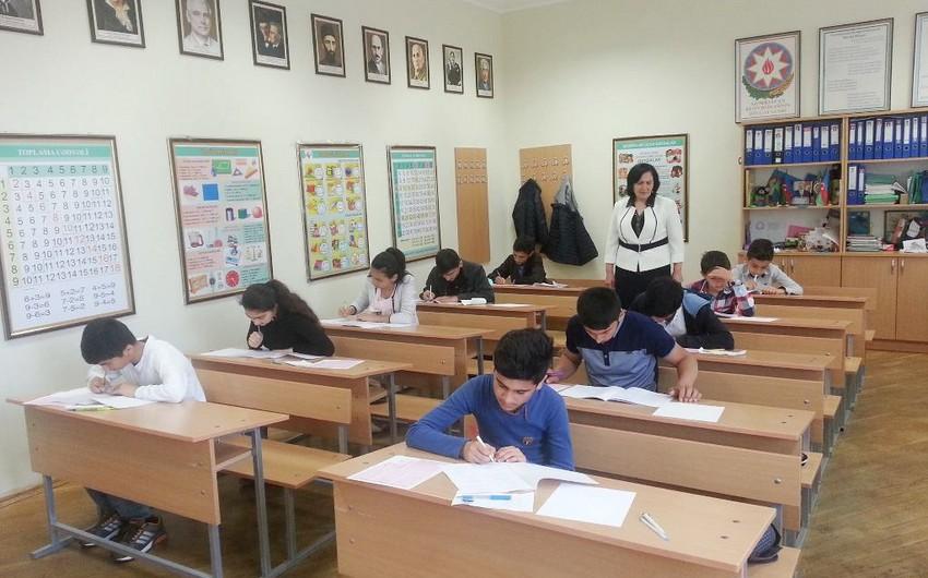 Lisey və gimnaziyalara mərkəzləşdirilmiş qaydada şagird qəbulu imtahanı keçirilib
