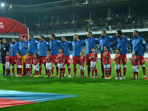 Национальная сборная Азербайджана поднялась на 24 ступени в рейтинге FIFA