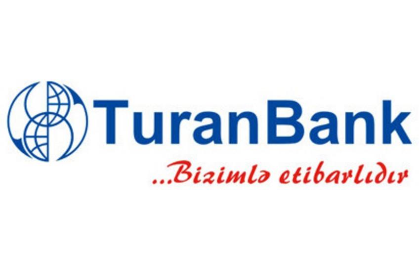 """""""Turan Bank""""ın məcmu aktivləri bu il 14% artıb"""