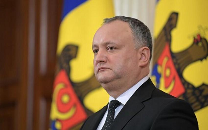 İqor Dodon: Moldova Azərbaycan şirkətlərinin yolların qurulması təcrübəsində maraqlıdır