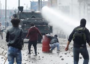 Kolumbiyada qarışıqlıqlar zamanı yüzlərlə polis yaralanıb