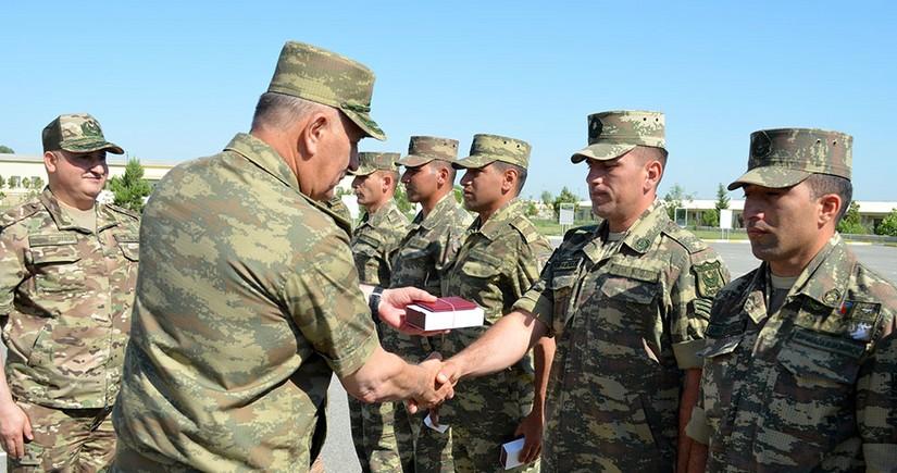 Azerbaijani servicemen leave for Commando Courses in Turkey