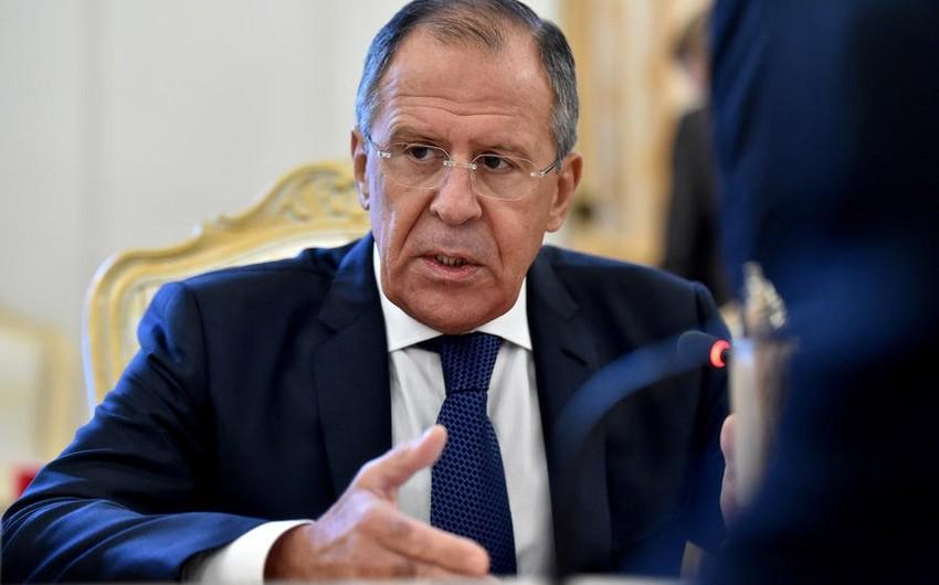 Sergey Lavrov: İranı əsassız olaraq anti-terror koalisiyasından silmək qeyri-praqmatikdir