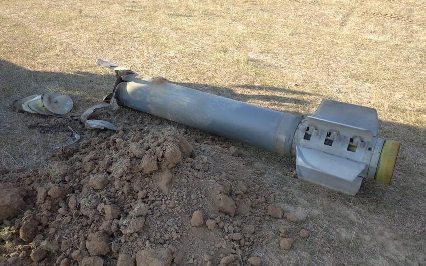 Cəbhəyanı ərazilərdə top mərmisi, raket, bombacıqlar aşkarlandı