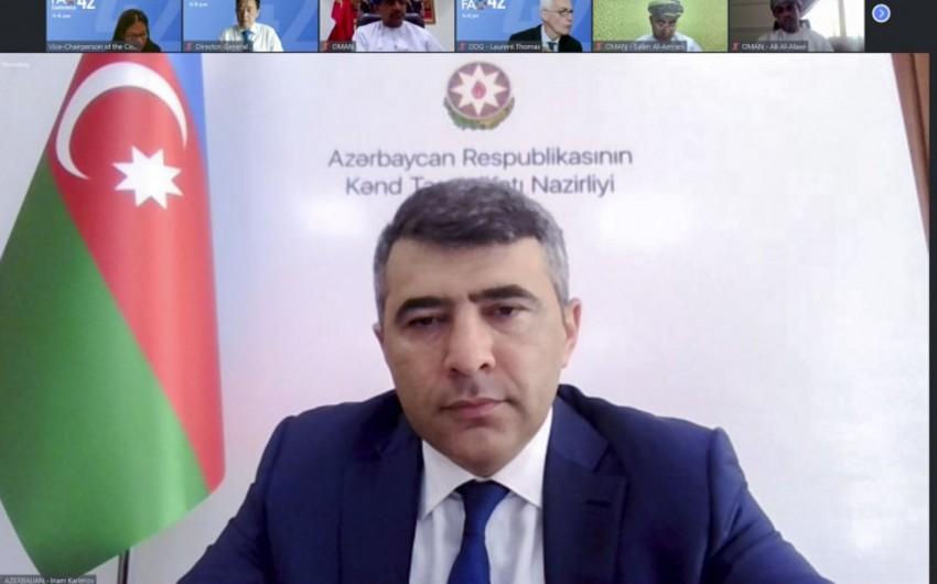 """FAO Qarabağda """"ağıllı kənd""""lərlə bağlı layihədə iştirak edə bilər"""