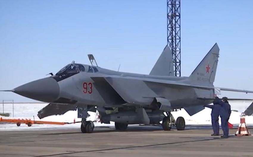 ВКС России выполнили учебно-боевой пуск гиперзвуковой ракеты комплекса Кинжал - ВИДЕО