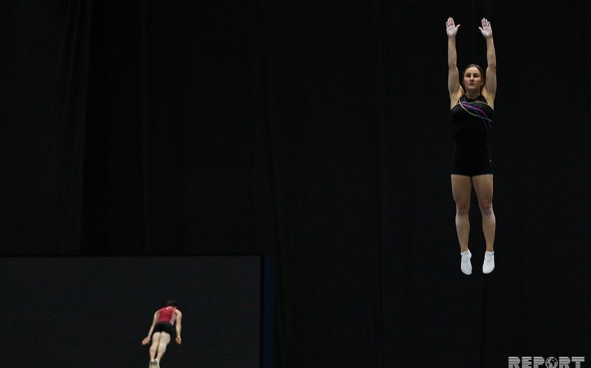 Azərbaycanın üç gimnastı Bakıdakı Dünya Kubokunun finalında mübarizəyə başlayacaq