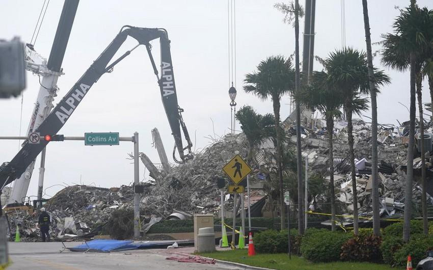 Floridada binanın uçması nəticəsində insan tələfatı artıb