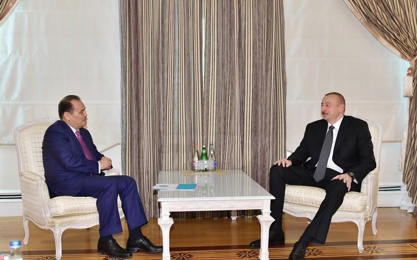 Президент Ильхам Алиев принял генерального секретаря Совета сотрудничества тюркоязычных государств