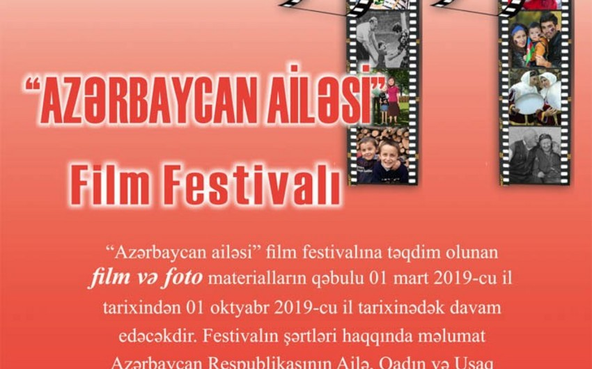 """""""Azərbaycan ailəsi 2019"""" film festivalı başlayıb"""