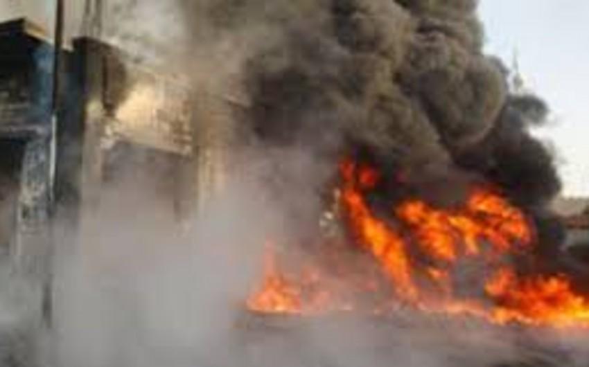 İraqda güclü partlayış: 40 ölü, 56 yaralı