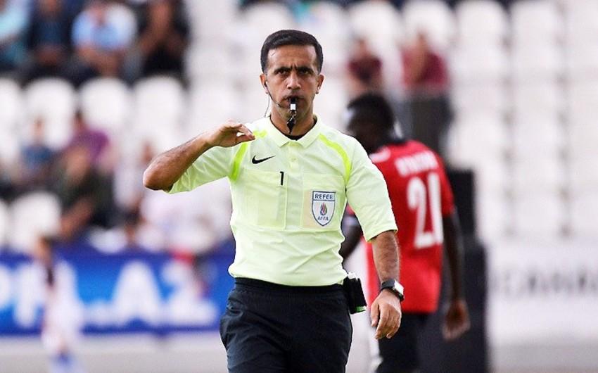 Azərbaycanın FIFA referisi dünya çempionatının yarımfinal oyununa təyinat alıb