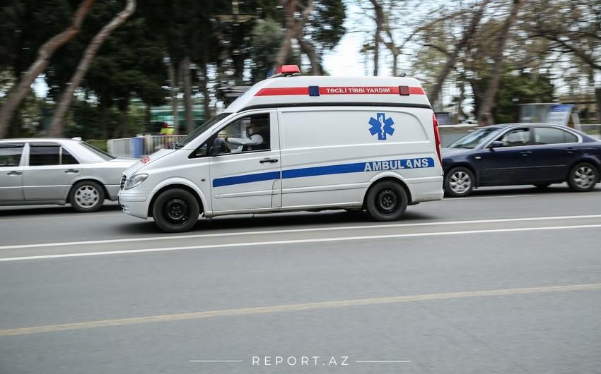 Avtomobilin vurduğu piyada xəstəxanaya aparılarkən yolda öldü