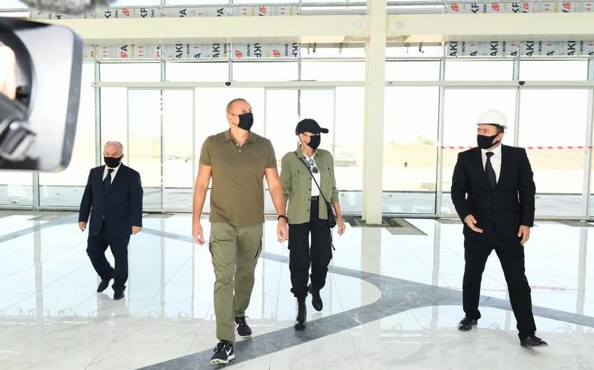 Mehriban Əliyeva Füzuli Beynəlxalq Hava Limanı ilə bağlı paylaşım edib