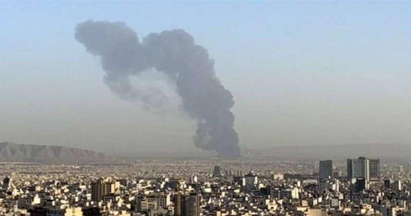 В Тегеране в исследовательском центре КСИР произошел пожар