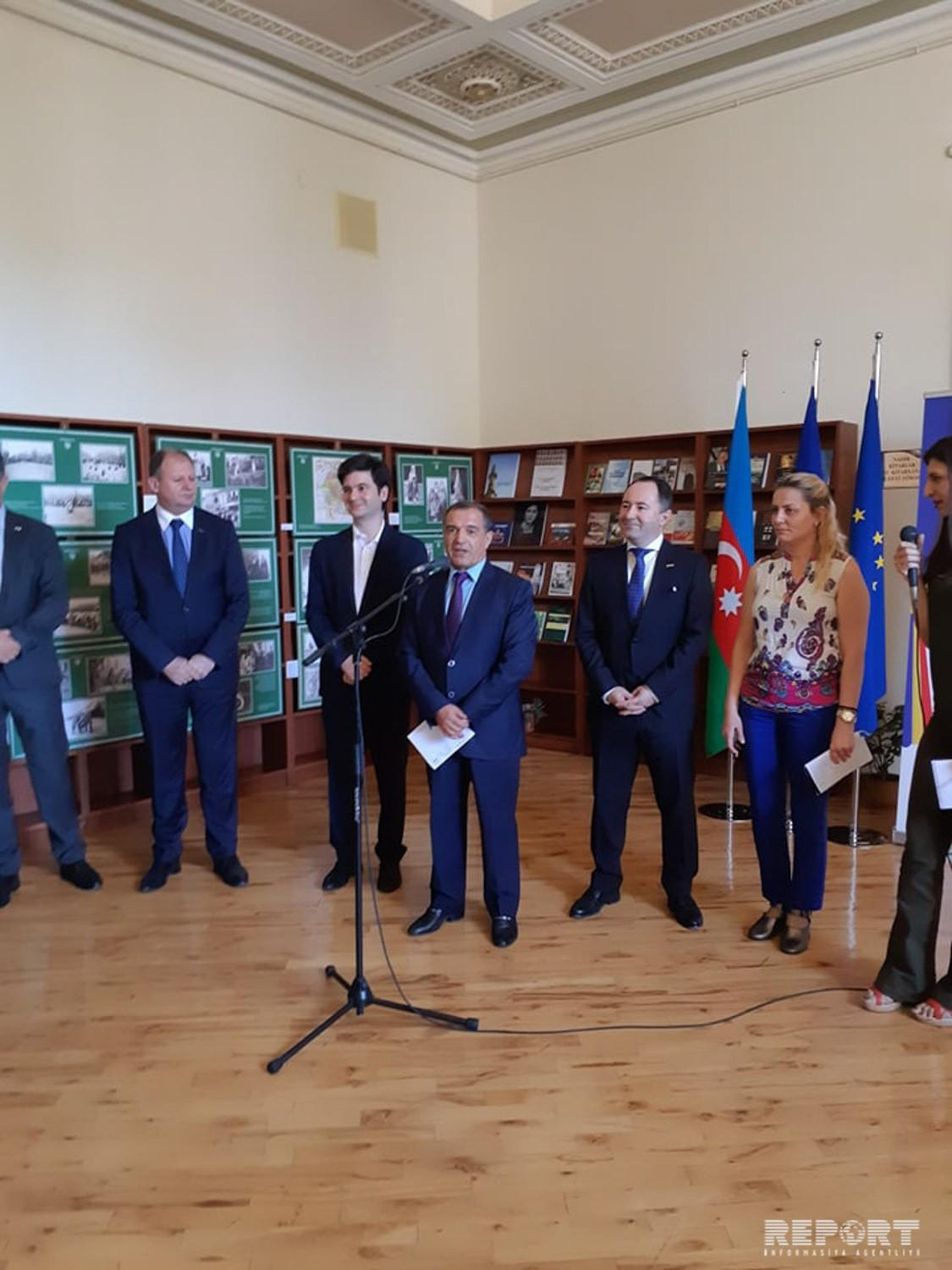 Exhibition dedicated to Centenary of Romanian Great Union held in Baku