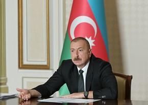 Azərbaycan Prezidenti: Rusiyanın siyasi isteblişmentinin müəyyən hissəsinin bu cinayətkar terrorçu rejimi dəstəkləməsi təəccüblüdür