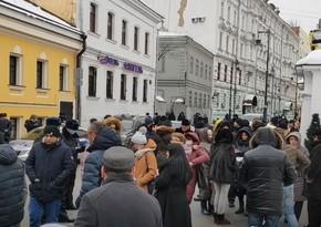 Перед посольством Армении в Москве прошла акция протеста