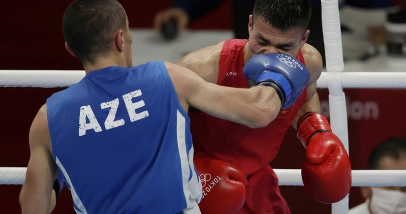 Dünya çempionatı: Azərbaycan boksçusu mübarizəni dayandırıb
