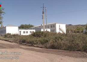 Recording of Gubadli's Balasoltanli village liberated from occupation