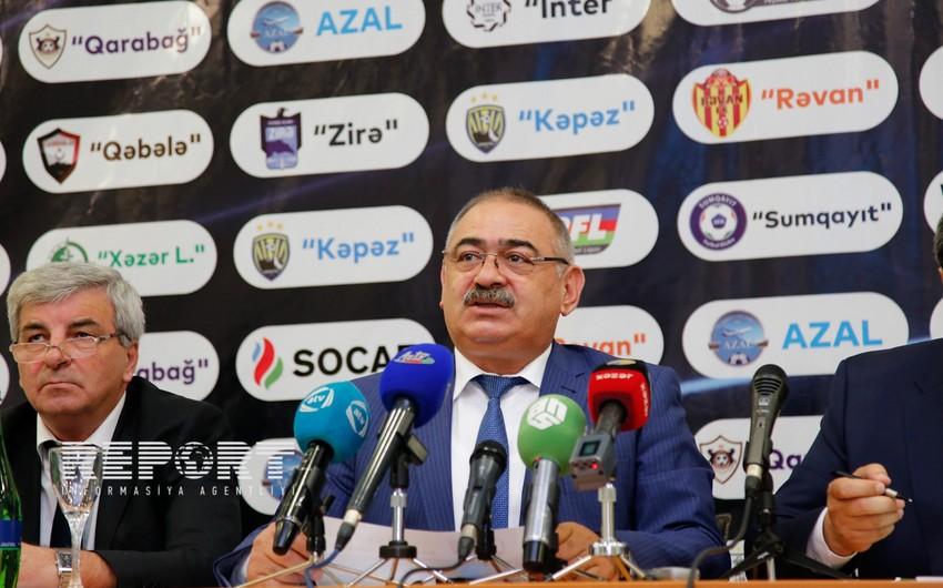 PFL prezidenti: İki klubumuzun Avroliqada oynamasında hakimlərimizin də əziyyəti var - MÜSAHİBƏ
