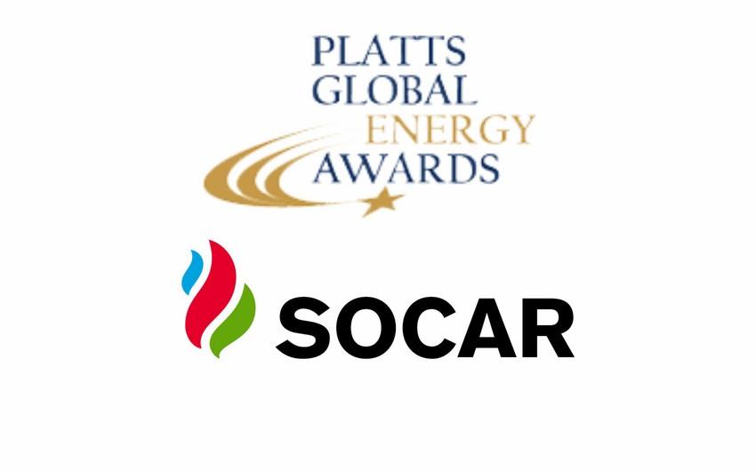 SOCAR Trading şirkətinə Platts Global Energy Awardsın mükafatı təqdim olunub