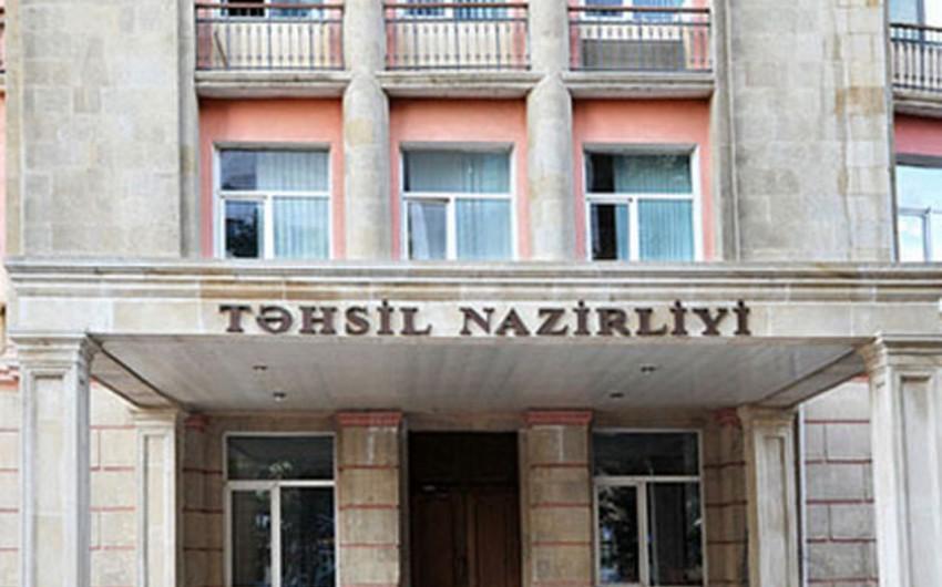Azərbaycan Təhsil Nazirliyi yeni layihəyə start verib