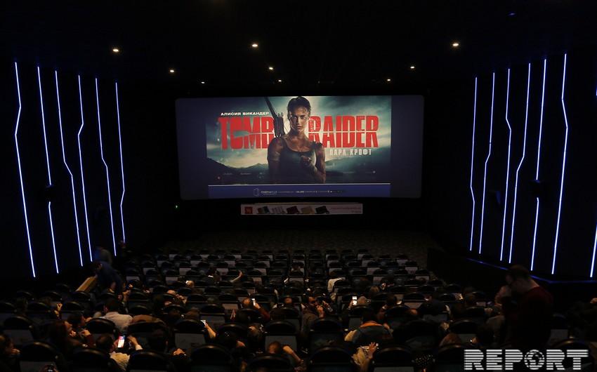 CinemaPlus Ganjlik Mallda Tomb Raider:Lara Kroft filminin premyera öncəsi nümayişi olub - FOTO - VİDEO