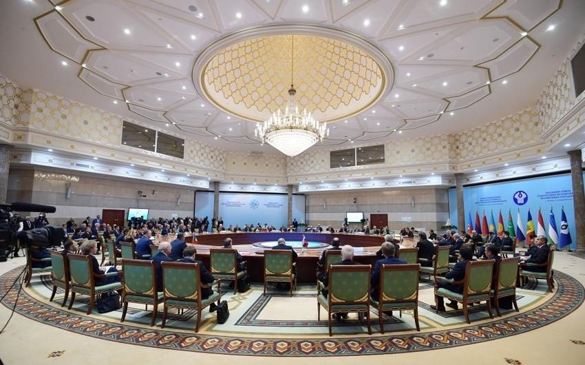 Prezident İlham Əliyev MDB Dövlət Başçıları Şurasının geniş tərkibli iclasında iştirak edib - YENİLƏNİB