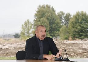 Глава государства: Реализуемые в Физулинском районе проекты демонстрируют и наши намерения, и наш потенциал