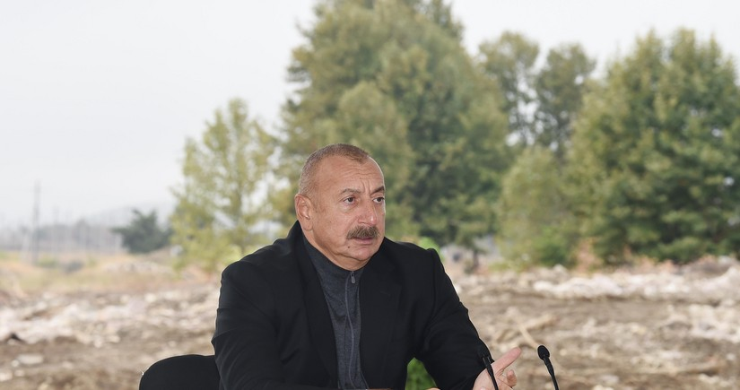 President: Projects implemented in Fuzuli demonstrate Azerbaijan's intentions and its potential