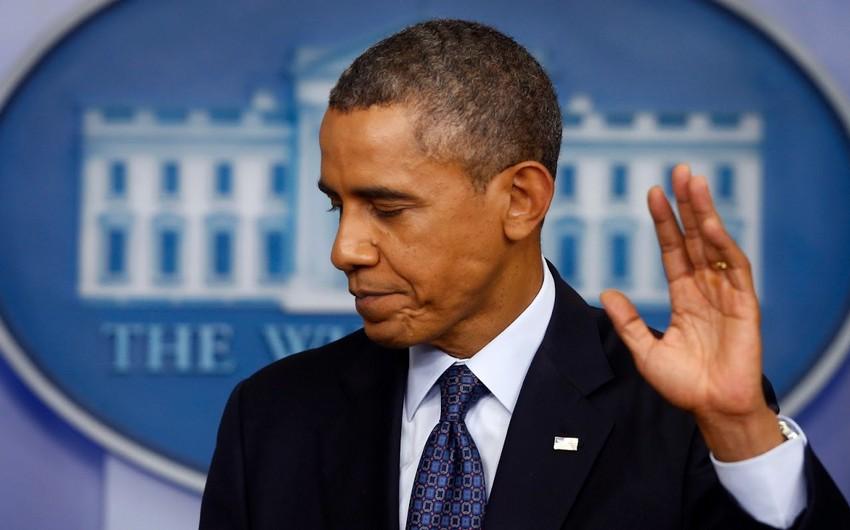 Obama ABŞ-ın Paris sazişindən çıxmasını gələcəyi inkar adlandırıb