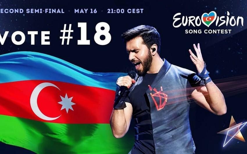 Azərbaycan təmsilçisi Eurovision-2019un finalına vəsiqə qazanıb - YENİLƏNİB-2