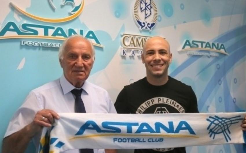 Футболист сборной Азербайджана подписал договор с Астаной