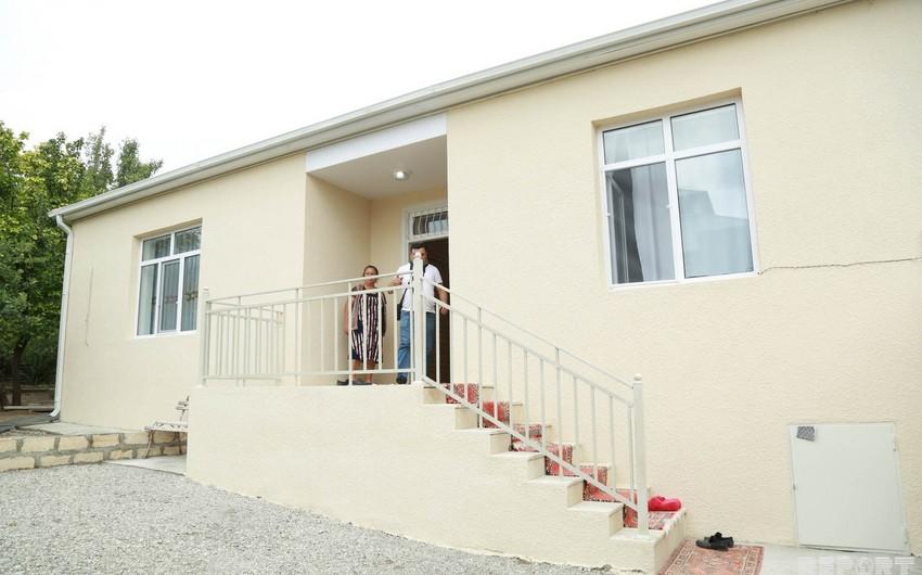 Şamaxıda zəlzələdən zərər çəkənlər üçün 20, 44, 110 mənzilli yaşayış binaları tikilir, 251 evin inşası başa çatıb