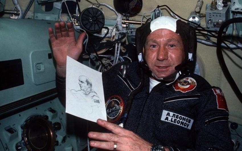 First person to spacewalk dies