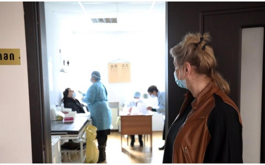Gürcüstanda koronavirusa 833 yeni yoluxma qeydə alınıb