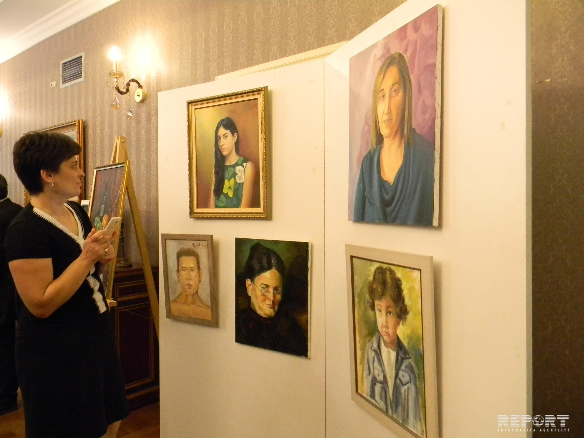 First personal exhibition of Azerbaijani young artist opened in Tbilisi