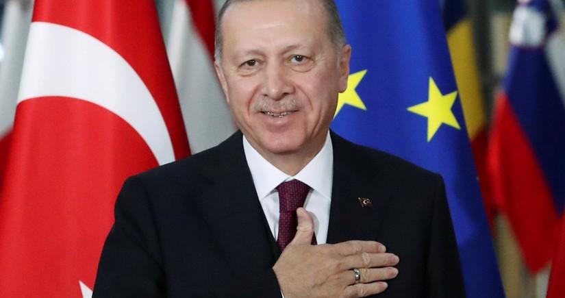 Ərdoğan: Kipr türklərinin haqlarının tapdanmasına göz yummayacağıq