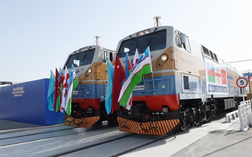 BTQ dəmir yolu vasitəsilə Rusiyadan göndərilən polad lövhələrin nəqlinə başlanılıb